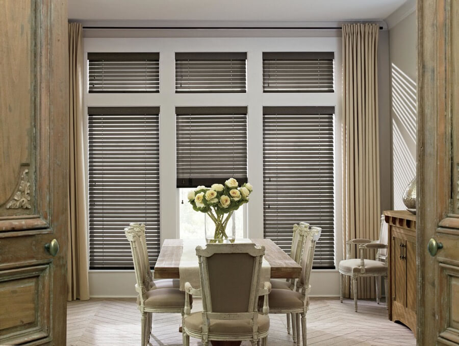 Inman SC Faux Wood Blinds